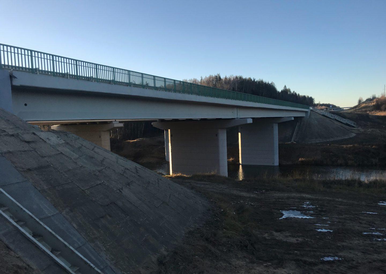 Мостовой переход на автомобильной дороге М-8 «Холмогоры»
