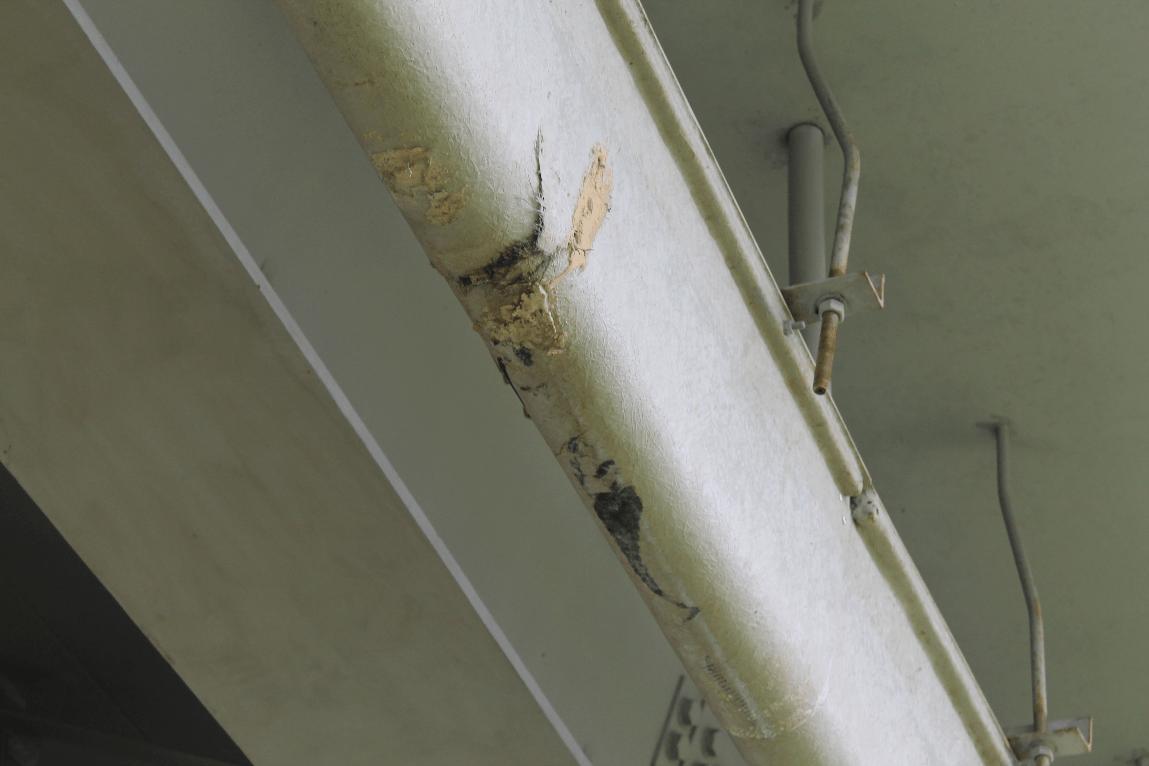 Типичные дефекты лотков из формованного стеклопластика